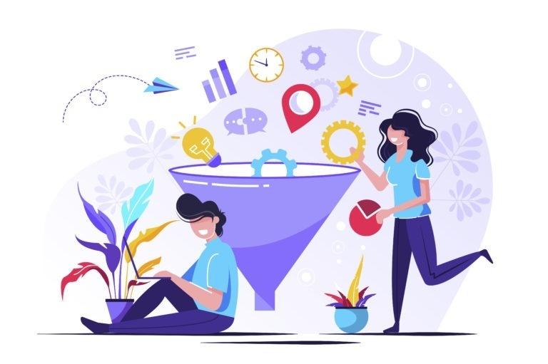 crear un túnel de ventas
