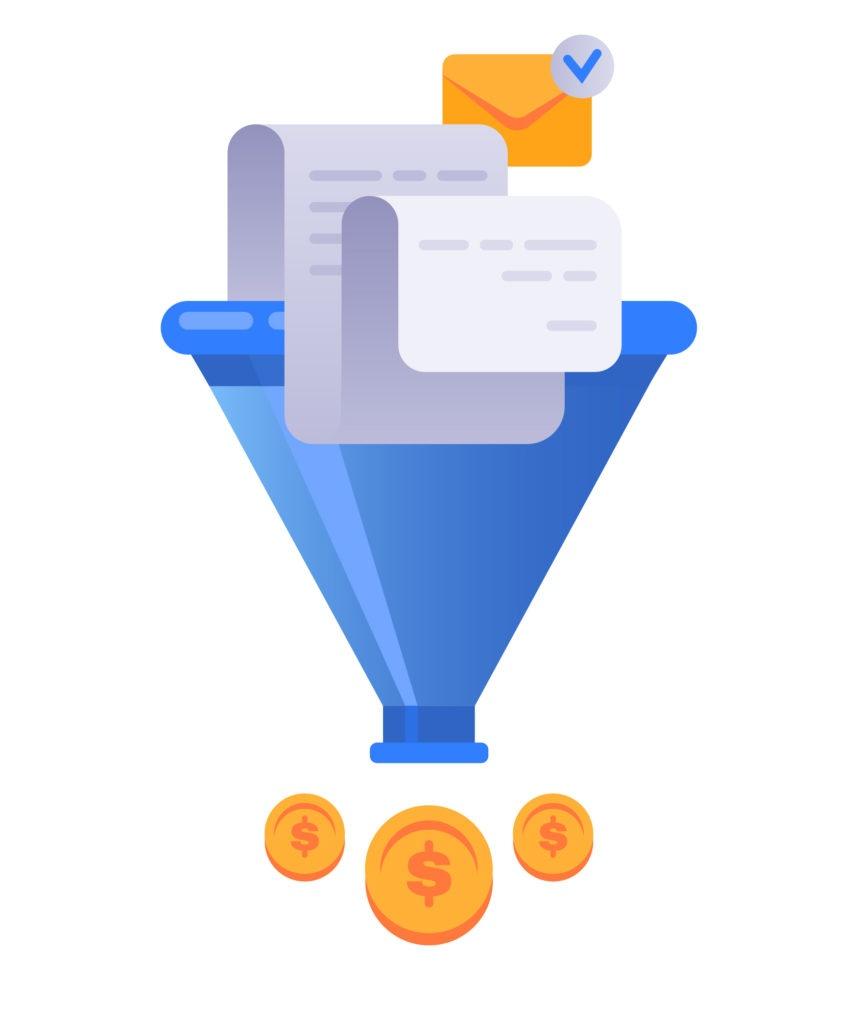 túnel de ventas - características del sistema io
